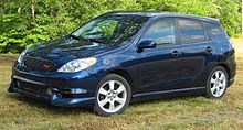 2004 Toyota Matrix Xrs With Trd Grille