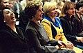 2003 - First ladies Bella Kocharian, Laura Bush, Lyudmila Putina and Zorka Parvanova (from left to right).jpg
