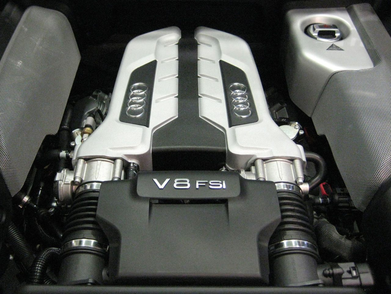File2007 Audi R8 Engine Wikimedia Commons 2014 A6 Wiring Diagram Free Download