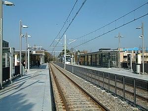 Leidsewallen RandstadRail station - Image: 2008 Station Leidsewallen (7)