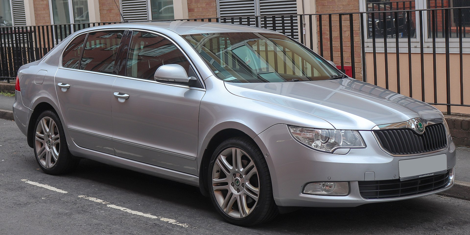 Manuale Skoda Superb 2 (2008–2015)