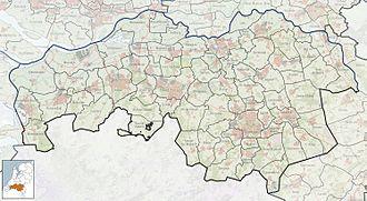 Vlijmen - Image: 2010 NL P10 Noord Brabant positiekaart gemnamen