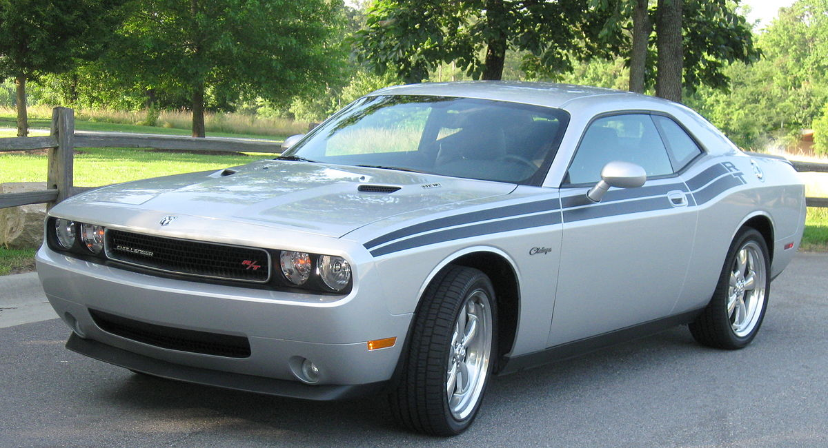 Challenger Rt For Sale >> دودج شالنجر - ويكيبيديا