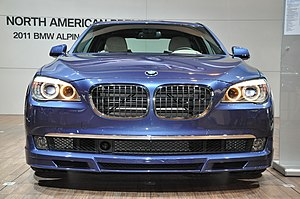 2011 Alpina B7 at Chicago Auto Show 2010.