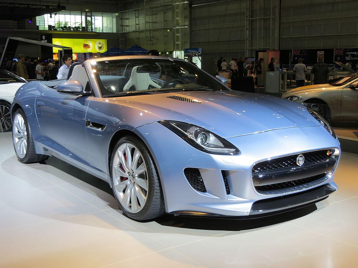 Jaguar F Type Convertible >> จากัวร์ (รถยนต์) - วิกิพีเดีย