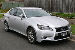 2012 Lexus GS 250 (GRL11R) Luxury sedan (2015-08-07) 01.jpg