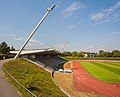 2013-08-23 Sportpark Nord, Bonn - Stadion-Tribüne; Ansicht aus Südost IMG 5116.jpg