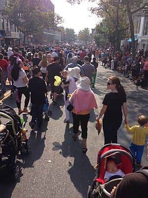 Ragamuffin parade - Part of Bay Ridge's 2013 Ragamuffin Parade