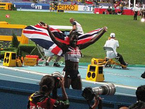 2013 World Championships in Athletics – Women's 400 metres - Gold medalist Christine Ohuruogu