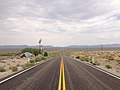 2014-07-17 13 38 47 View east along U.S. Route 6 about 35.2 miles east of the Esmeralda County Line in Nye County, Nevada.JPG