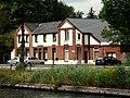 20140725 Border Post between the Netherlands and Belgium along Zuidwillemsvaart in Lozen.jpg