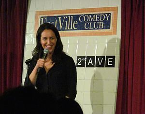 Rachel Feinstein (comedian) - Rachel Feinstein performing at the Eastville Comedy Club in New York City on December 26, 2014