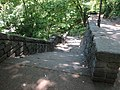 2014 Fort Tryon Park staircase from Alpine Gardens to south.jpg
