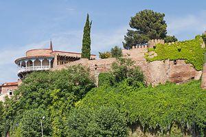 Darejan Dadiani - Remnants of Queen Darejan's palace in Tbilisi.