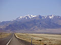 2015-04-18 09 30 04 View of Star Peak from Milepost 157 on Interstate 80 westbound in Pershing County, Nevada.JPG