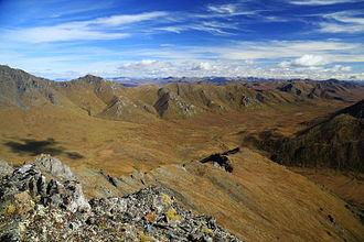 Ogilvie Mountains - Mountains in Tombstone Territorial Park