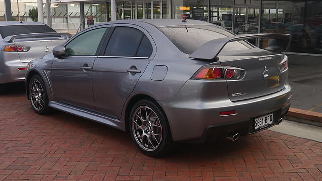 File 2015 Mitsubishi Lancer Cj My15 Evolution Sedan