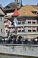 2015 Sechseläuten - Zunfthaus zur Zimmerleuten - Limmatquai - Münsterbrücke 2015-04-13 14-52-31.JPG
