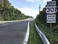 2016-09-09 10 15 05 View north along U.S. Route 301 (Crain Highway) at Maryland State Route 382 (Croom Road) in Croom, Prince Georges County, Maryland.jpg