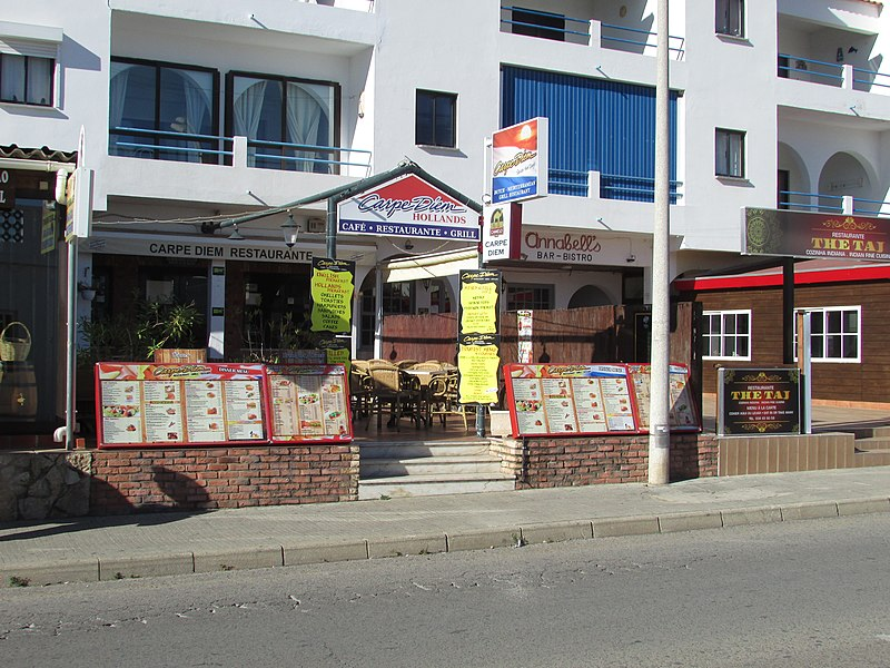 Carpe Diem Restaurant Pacific Bar
