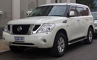 Nissan Patrol Motor vehicle
