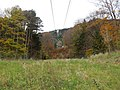 2017-11-02 (300) View from the valley station of the Raxbahn to the mountain station at Rax, Austria.jpg