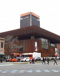 2017 Santiago de Chile - Centro Gabriela Mistral (GAM), avenida Libertador Bernardo O'Higgins 227.jpg
