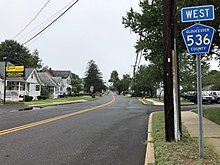County Route 536 (New Jersey) - Wikipedia