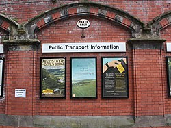 2018 at Shrewsbury station - taxis only.JPG