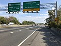 2019-10-02 15 38 21 View south along Maryland State Route 5 (Branch Avenue) at the exit for Linda Lane (TO Old Branch Avenue) in Camp Springs, Prince George's County, Maryland.jpg