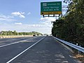 2019-10-02 15 39 30 View south along Maryland State Route 5 (Branch Avenue) at the exit for Maryland State Route 337-Allentown Road (Camp Springs, Andrews Air Force Base) in Camp Springs, Prince George's County, Maryland.jpg