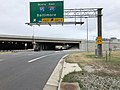 2019-10-06 14 25 19 View north along Virginia State Route 241 (Telegraph Road) at the exit for Interstate 95 NORTH-Interstate 495 EAST (Baltimore) on the edge of Huntington and Rose Hill in Fairfax County, Virginia.jpg