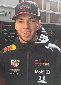 2019 Formula One tests Barcelona, Gasly (47200027932).jpg