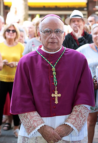 Latin Catholic Diocese of Gibraltar - Image: 24 Sep 2016 Toma de posesión de Carmelo Zammit del cargo de Obispo de Gibraltar (29959238975)