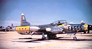 27th Fighter-Interceptor Squadron Lockheed F-94C-1-LO Starfire 51-13555
