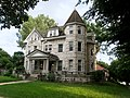 3401 Gladstone Blvd -This 5076 sq. f. incredible stone mansion has 6 bedrooms and 3.0 bath. ( Year b. 1910) - Kansas City, Missouri - Historic Pendleton Heights - panoramio.jpg