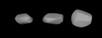355 Gabriella - A three-dimensional model of 355 Gabriella based on its light curve