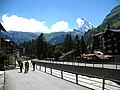3720 - Zermatt - Vispa viewed from Rechte Uferstrasse.JPG