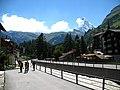 3720 - Zermatt - Vispa viewed from Rechte Uferstrasse.JPG