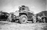 39M Csaba felderítő páncélgépjármű (1940) Fortepan 38969.jpg