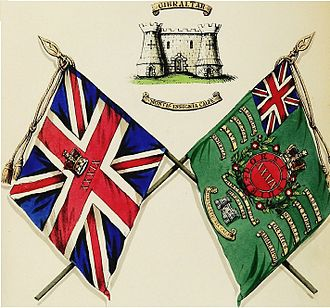 39th (Dorsetshire) Regiment of Foot - Colours of the 39th Foot