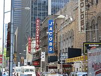 45th Street, Manhattan, New York City from lef...
