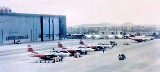 57th Fighter-Interceptor Squadron - 57th FIS F-89 Scorpions in 1959.