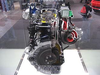 Cummins B Series engine - 6.7 Demo