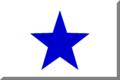 600px Bianco con stella Blu.png