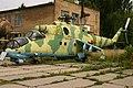 72 Yellow Mil Mi-24 P Hind Ukrainian Airforce (7724009478).jpg