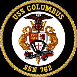 USS Columbus (SSN-762) - Image: 762insig