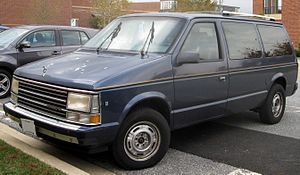 Plymouth Voyager - 1987-1990 Plymouth Grand Voyager SE