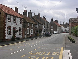 Muston, North Yorkshire Village and civil parish in North Yorkshire, England