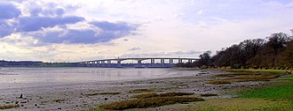 Orwell Bridge - View in March 2010